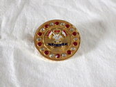9th / 12th ROYAL LANCERS BROOCH / BROACH (GRCS)